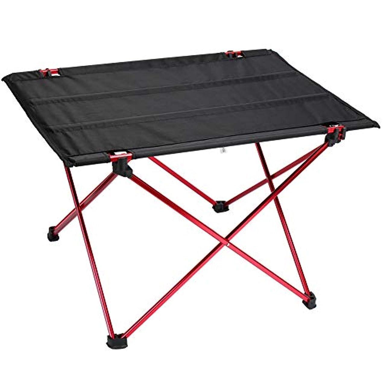 パノラマ立法ネクタイAPIE アウトドアテーブル 折り畳みテーブル 軽量 ロールテーブル キャンプ テーブル用 BBQアウトドア テーブルオックスフォード ビーチ 収納バック付き