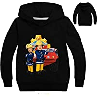 Color at Picture 15 11 2-12Y 2018 New Year Children Cartoon Fireman Sam Clothes Spring Outdoor Kids Outwear Long Sleeve Jumper Causal Jacekt Coat
