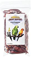 Kaylor Made Sweet Harvest Vitamin Enriched Chili Pepper Head Pet Bird Treats 2z