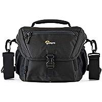 Lowepro Nova 160 AW II, Shoulder Bag for DSLR and Mirrorless Cameras, Black, (LP37119-PWW)