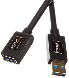 Amazonベーシック USB3.0延長ケーブル 1.0m (タイプAオス- タイプAメス)