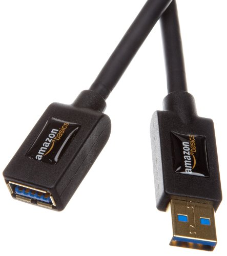 Amazonベーシック USB3.0延長ケーブル Aオス-A...