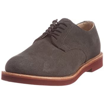 Derby Classic Oxford: Grey Suede 32095
