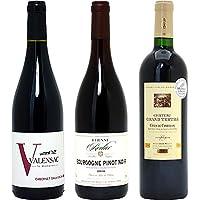 フランス名産地の有名ワイン 厳選赤3本セット((W0F392SE))(750mlx3本ワインセット)≪第92弾≫