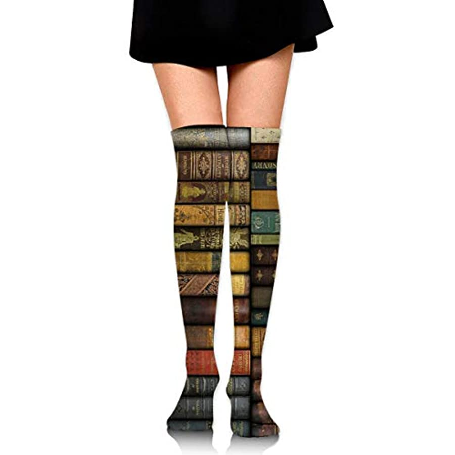 め言葉シャープ爆発するMKLOS 通気性 圧縮ソックス Breathable Thigh High Socks Over Exotic Psychedelic Print Compression High Tube Thigh Boot Stockings...
