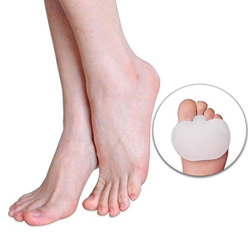 十一喜ぶせがむフットマッサージ 前足パット足のケア、ゲルソックス、つま先、シリコン、外反母趾矯正、ゲル中足骨パッド、足クッションのボール、前足のケア、痛みの足の痛み、外反、外反母趾