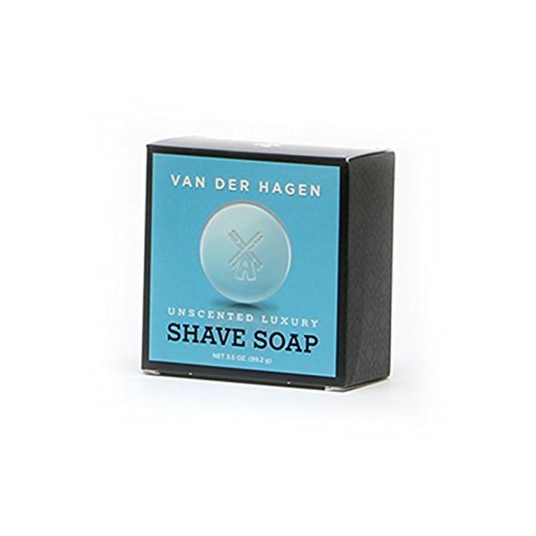 コスチュームするだろう火山のVANDERHAGEN(米) シェービングソープ 剃刀負けしにくい 無香料 髭剃り用石鹸