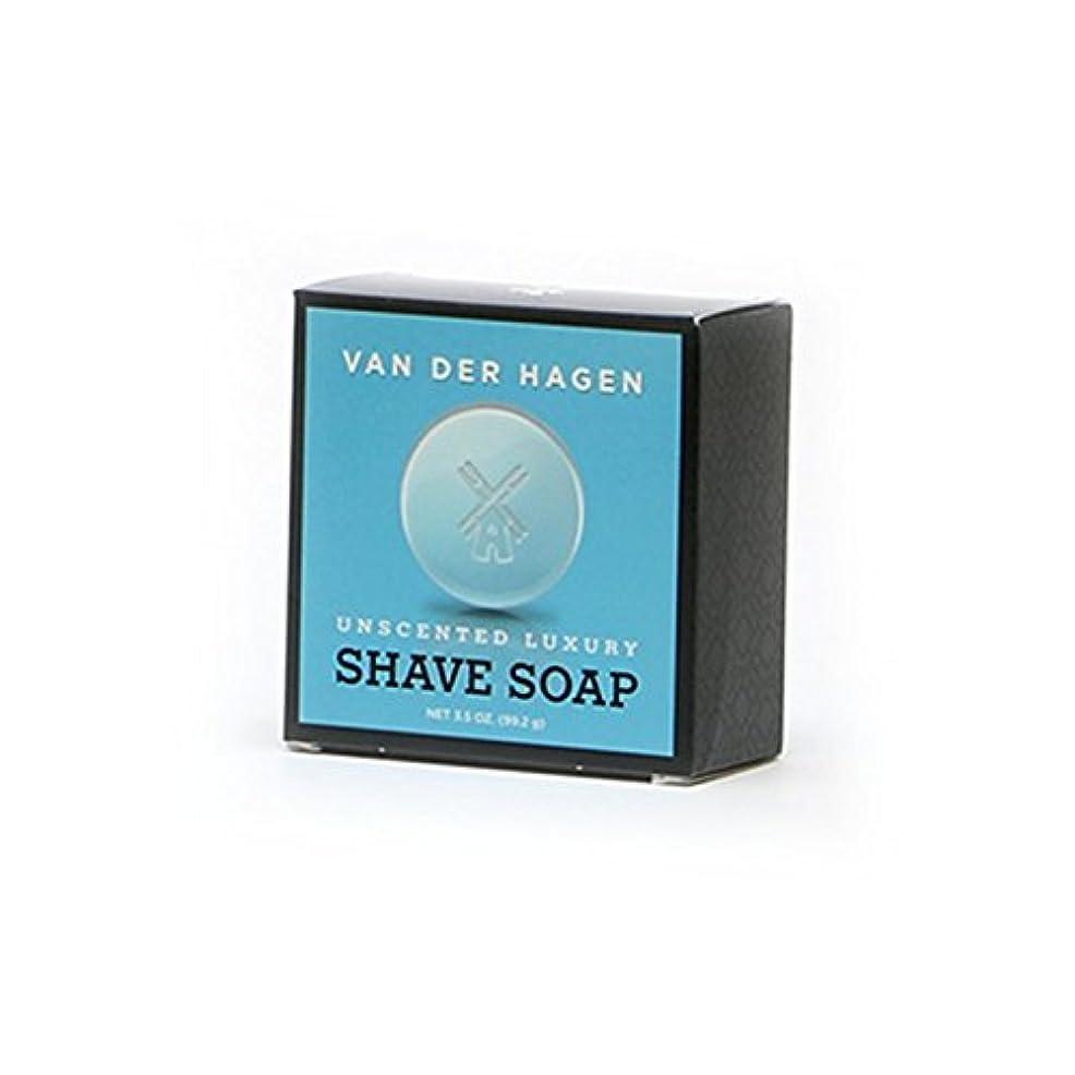 着服抑圧する作業VANDERHAGEN(米) シェービングソープ 剃刀負けしにくい 無香料 髭剃り用石鹸