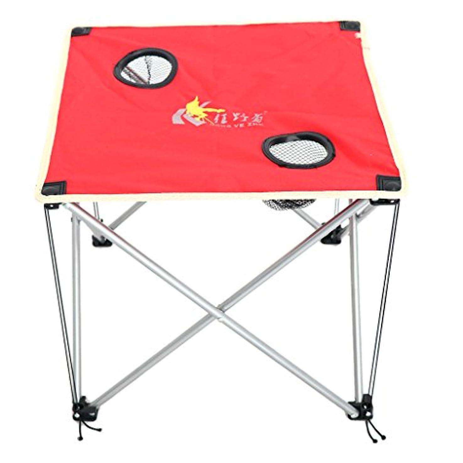 ポスト印象派引き金文房具Fenteer アルミ合金 折りたたみ式テーブル ピクニック用 全3色