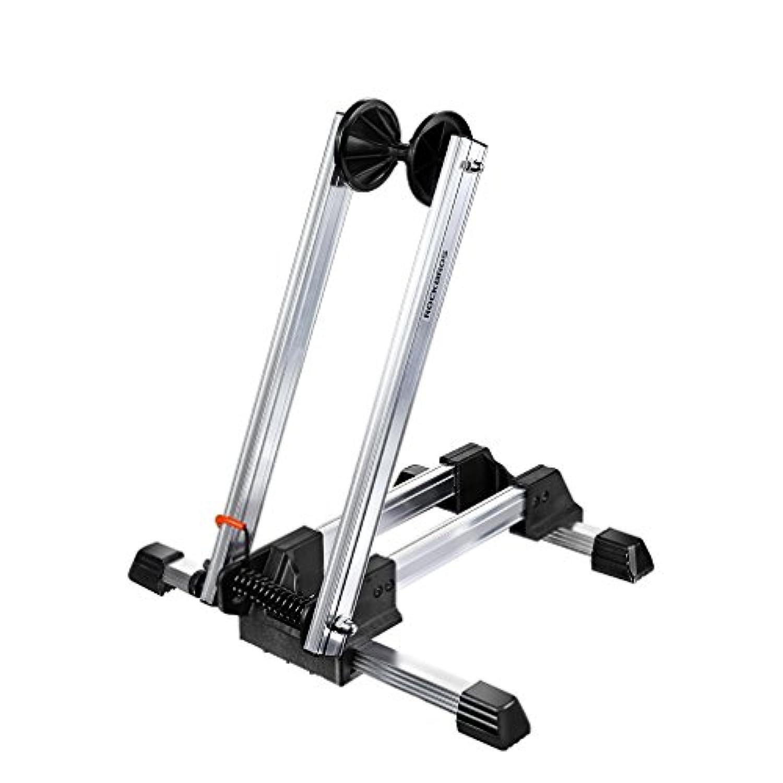 自転車 L字型 折りたたみ式 スタンド サイクルパーキングラック アルミ合金 収納可能 ROCKBROS(ロックブロス)