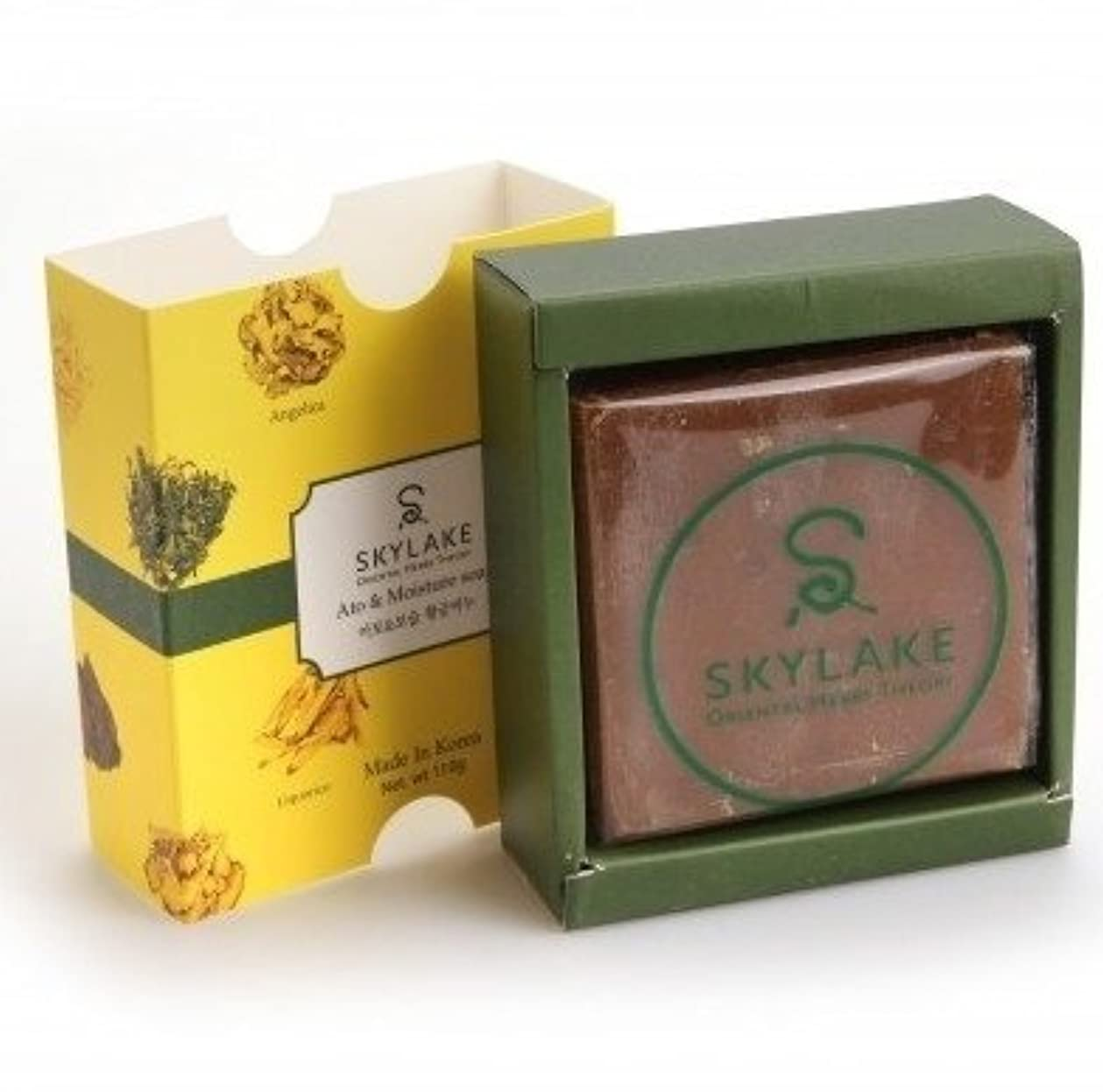 フラップリスクすることになっている[1+1]ハヌルホス[Skylake] 漢方アロマ石鹸Oriental Herbs Theory Soap (アト?保湿用)