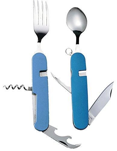 中林製作所『冒険倶楽部 携帯型ツール 7徳スプーン&フォーク付ナイフ』