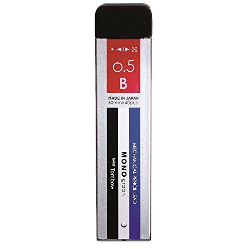 トンボ鉛筆 シャープ芯 モノグラフMG 0.5 B ECG-120 モノカラー