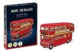 ドイツレベル ミニ3Dパズル ロンドンバス (ペーパークラフト) 00113