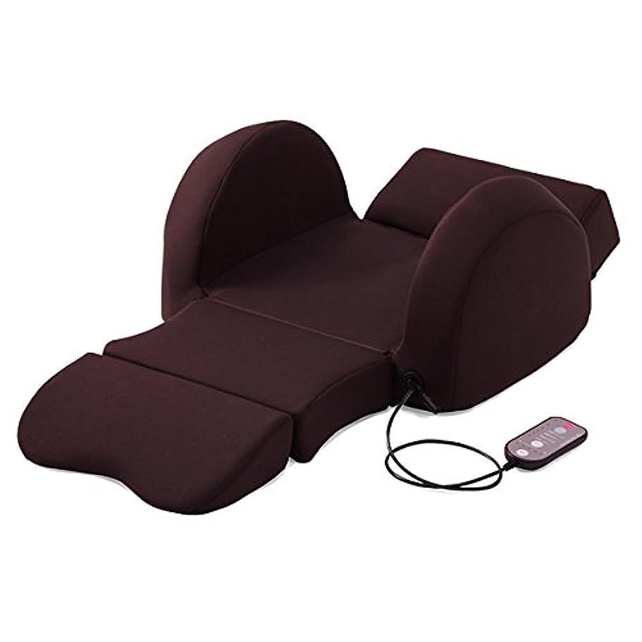 枕晩ごはんディスクTBS公式/ 芦屋美整体 骨盤スリム3Dエアー (ダークブラウン) ウエストから太ももまでスッキリケアできる 腰 マッサージ