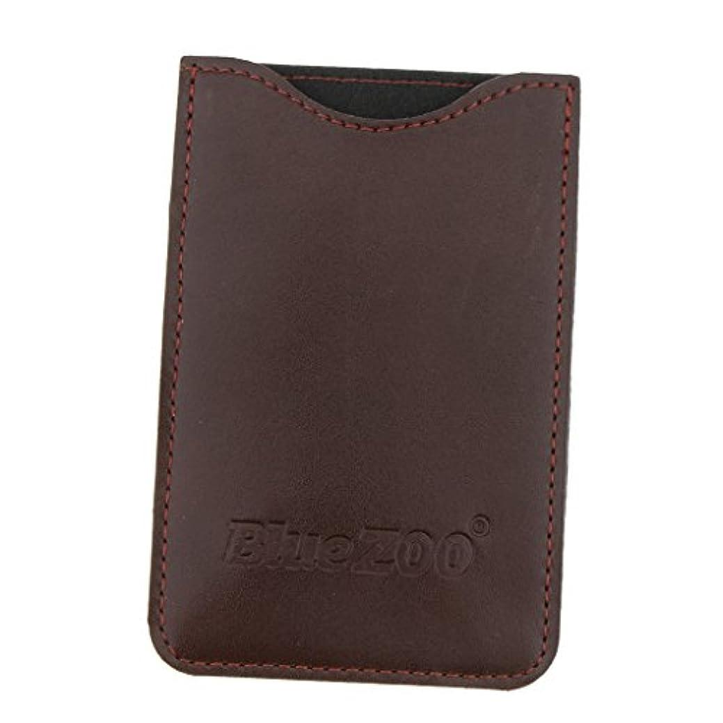 共役贅沢な調和のとれたBaosity 収納パック 収納ケース 保護カバー 櫛/名刺/IDカード/銀行カード 旅行 便利 全2色  - 褐色