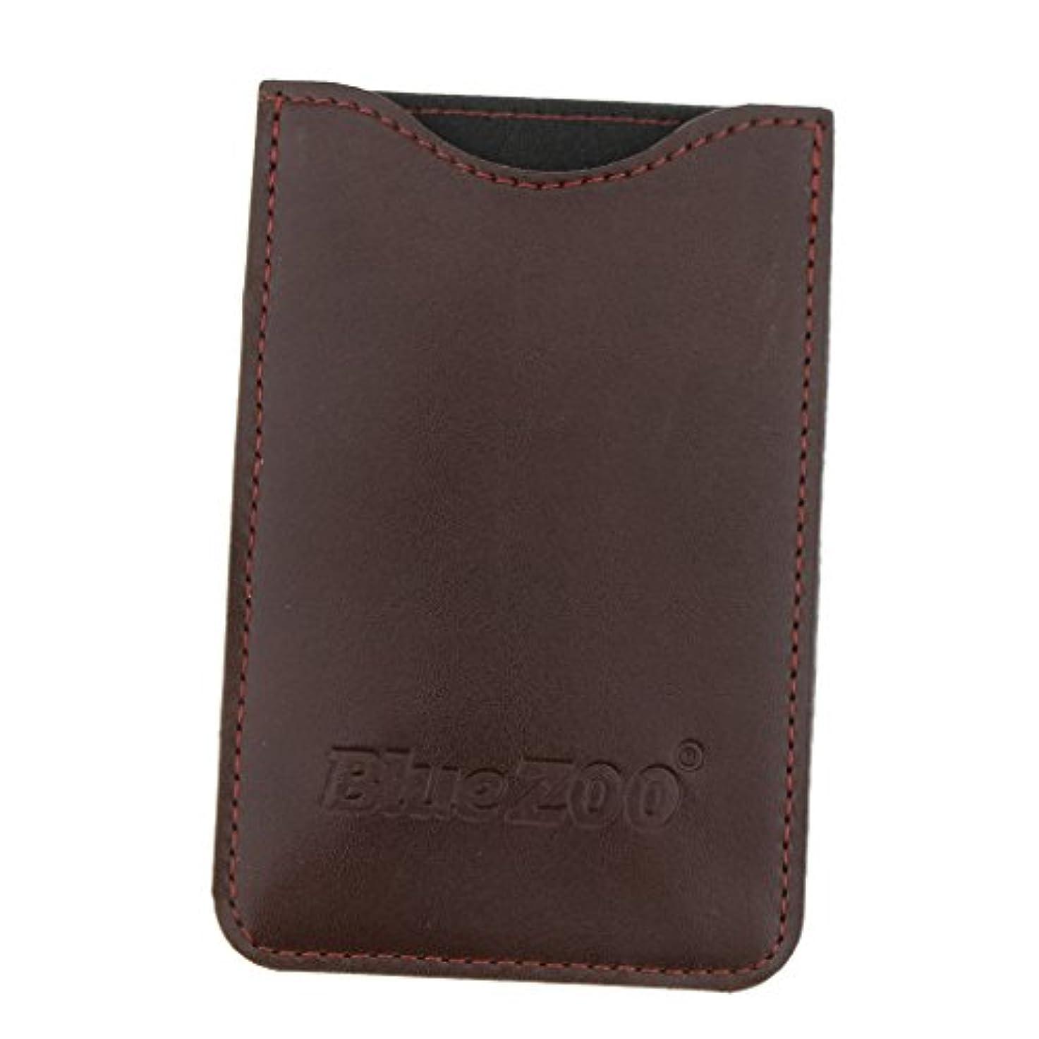 合計融合百万収納パック 収納ケース 保護カバー 櫛/名刺/IDカード/銀行カード 旅行 便利 全2色 - 褐色