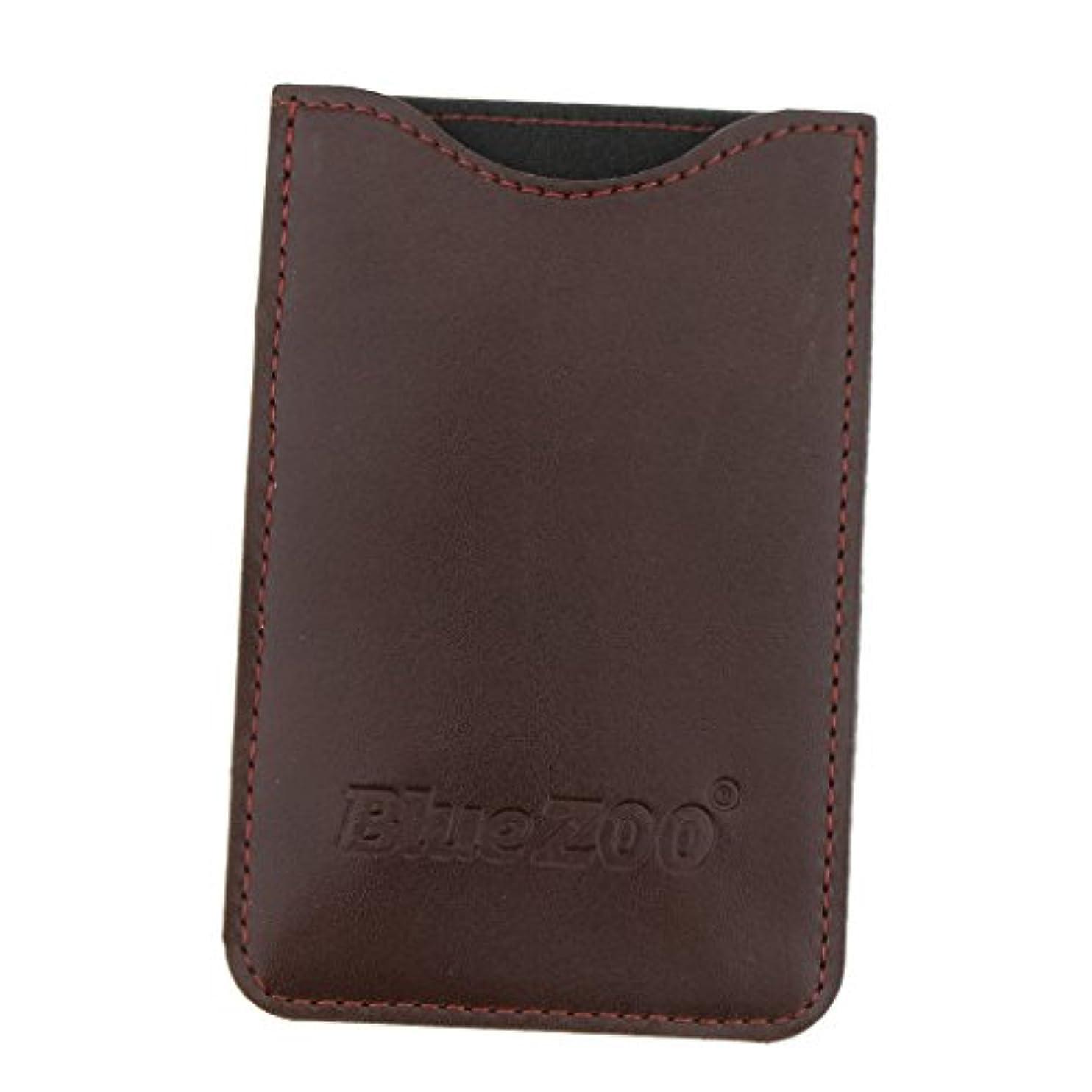 ひどいサーキットに行くインタビュー収納パック 収納ケース 保護カバー 櫛/名刺/IDカード/銀行カード 旅行 便利 全2色 - 褐色