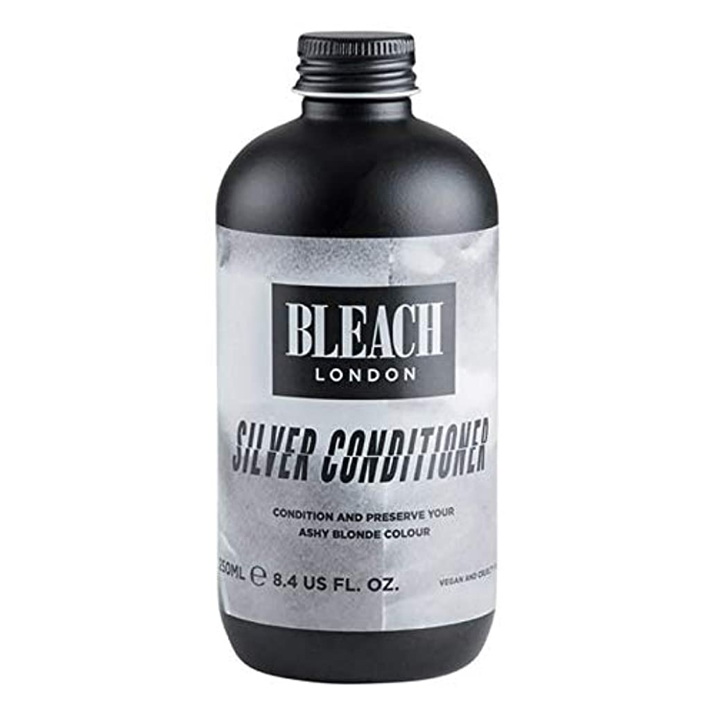 苗レッスン事実[Bleach London ] 漂白ロンドン銀コンディショナー250Ml - Bleach London Silver Conditioner 250ml [並行輸入品]