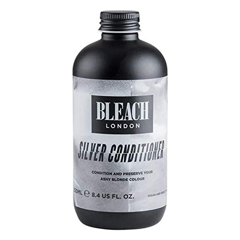 せせらぎブル薄暗い[Bleach London ] 漂白ロンドン銀コンディショナー250Ml - Bleach London Silver Conditioner 250ml [並行輸入品]