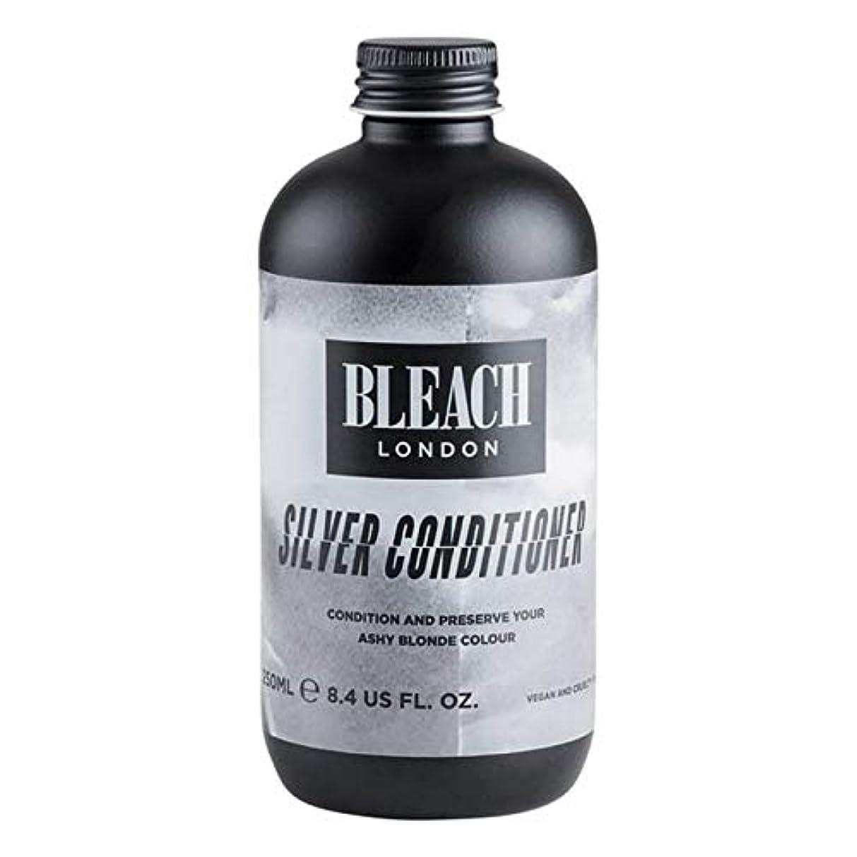 炭水化物雑草デンプシー[Bleach London ] 漂白ロンドン銀コンディショナー250Ml - Bleach London Silver Conditioner 250ml [並行輸入品]