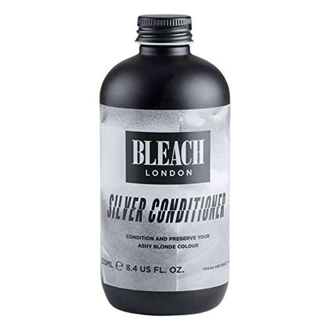 兵士武器ふくろう[Bleach London ] 漂白ロンドン銀コンディショナー250Ml - Bleach London Silver Conditioner 250ml [並行輸入品]