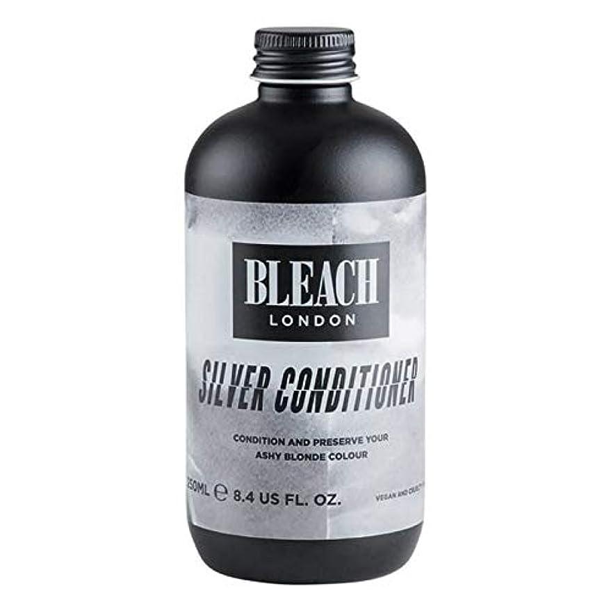 有毒肉ナラーバー[Bleach London ] 漂白ロンドン銀コンディショナー250Ml - Bleach London Silver Conditioner 250ml [並行輸入品]