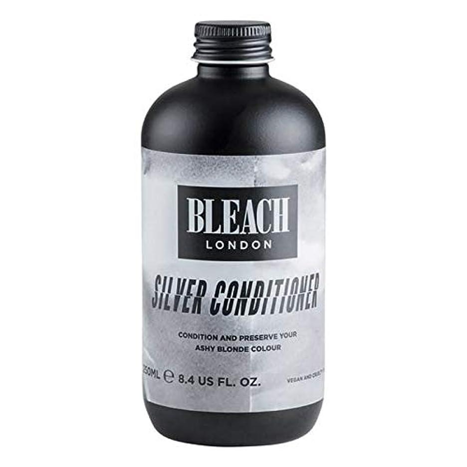 ドリル許される霊[Bleach London ] 漂白ロンドン銀コンディショナー250Ml - Bleach London Silver Conditioner 250ml [並行輸入品]