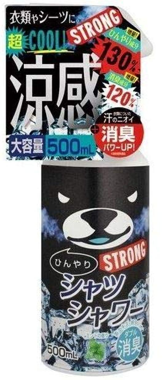 請う記憶工業用ひんやりシャツシャワー ストロングミント 本体 500ml × 10個 (10個)