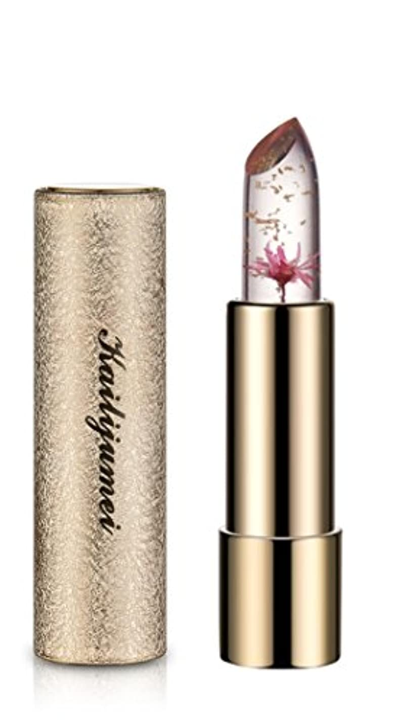 膨らませる全能不安定日本限定モデル 新作 kailijumei magic color lip 日本正規品 マジックカラー 唇の温度で色が変化するリップ 口紅 リップバーム カイリジュメイ ドライフラワー お花 (BARBIE DOLL POWDER...