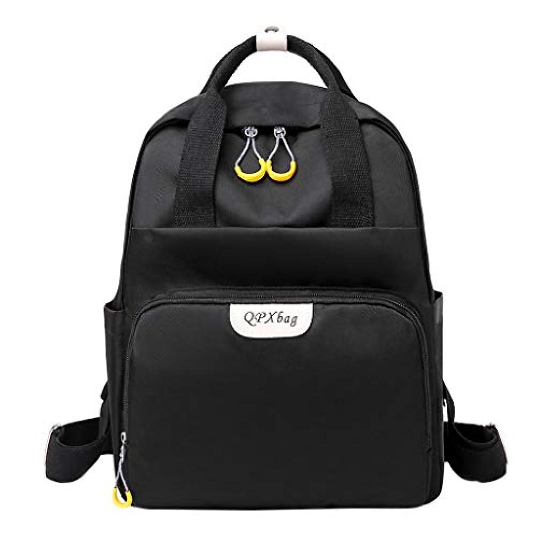 オン大佐さまようレディースファッションシンプルなソリッドオックスフォードバックパック、屋外旅行軽量防水盗難防止バッグレジャー耐久性ショルダーバッグ