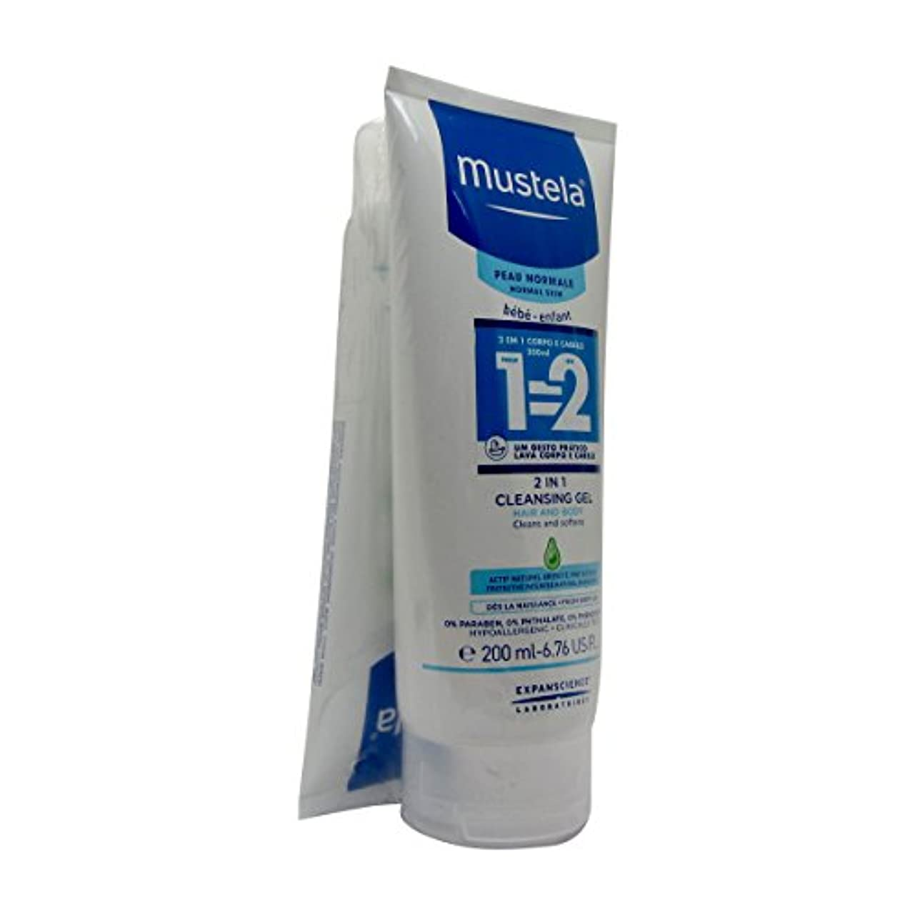 成熟スキャン可塑性Mustela Pack Champo 2 In 1 2x200ml [並行輸入品]