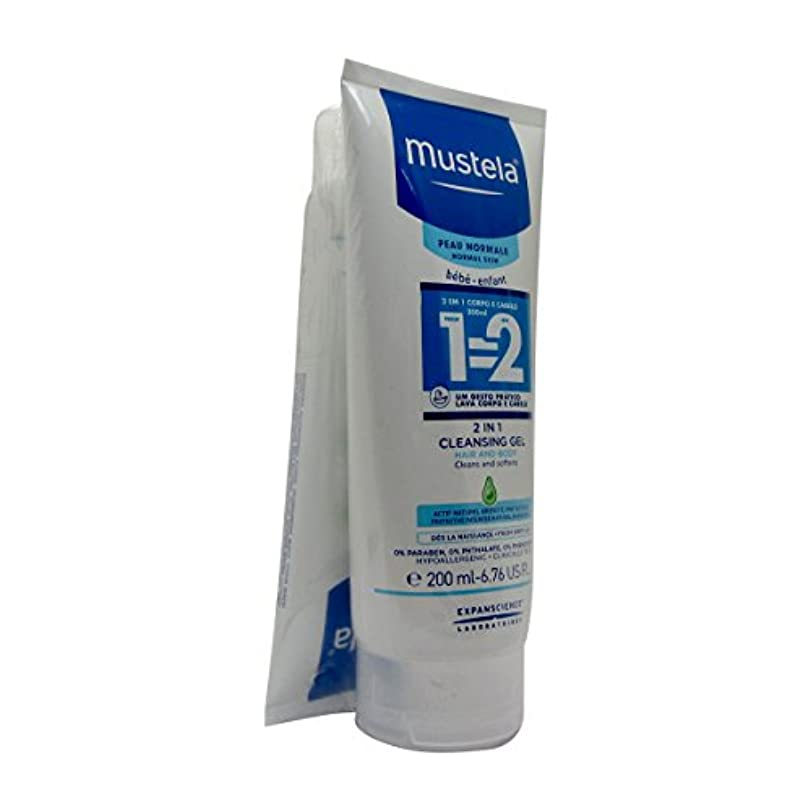 からかうスクリーチ外観Mustela Pack Champo 2 In 1 2x200ml [並行輸入品]