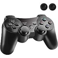 PS3 コントローラー PS3 ワイヤレスコントローラー Bluetooth ワイヤレス ゲームパッド USB ケーブル…