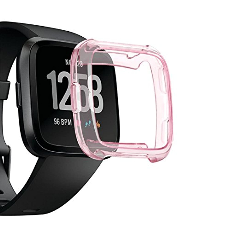 inverlee TpuシリコンカバーケースWatch Casingガードプロテクターfor Fitbit Versaスマートバンド