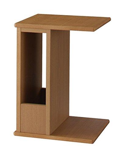 縦でも横でも使えるサイドテーブル トーレ NA オークナチュラル