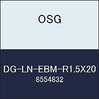 OSG エンドミル DG-LN-EBM-R1.5X20 商品番号 8554832