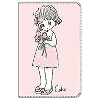 Caho iPad mini 1/2/3 ケース 手帳型 プリント手帳 チューリップB (ch-032)