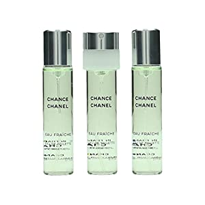 シャネル CHANEL チャンス オーフレッシュ ツィスト&スプレイ リフィル 3x20ml [並行輸入品]