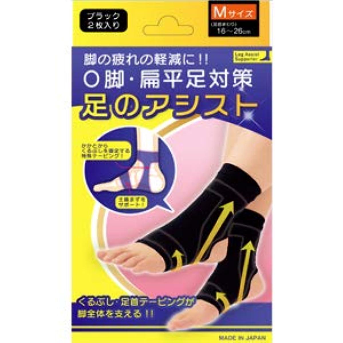 トーン敵意方程式美脚足のアシスト ブラック 2枚入り Mサイズ(足首まわり16~26cm)
