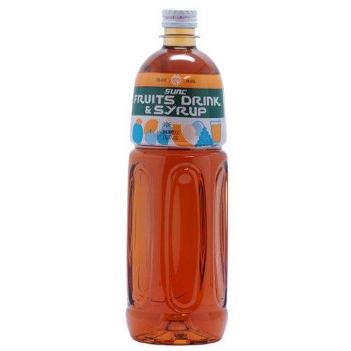 【業務用】 梅シロップ (梅フレーバーシロップ) 1L