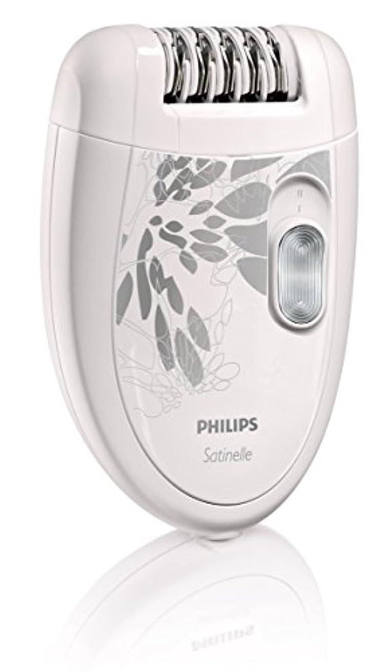 謝るスピリチュアル過剰【並行輸入品】Philips HP6401 Satinelle Epilator White/Gray