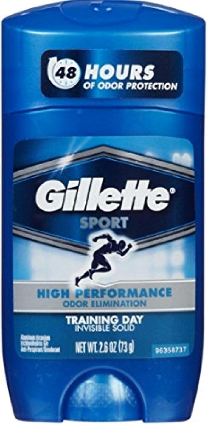 セッション雪作成するGillette Sport 48Hours ハイパフォーマンス  トレーニングデイ固形73g×2コ**並行輸入