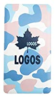 (ロゴス)LOGOS モバイルバッテリー 防災グッズ 災害用 iPhone充電器 海外旅行 薄型 約2回充電 カモフラージュ