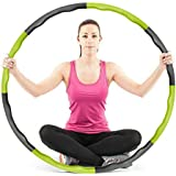 1/2 X100CM Foam Covered Fitness Weighted Hula Hoop Body Massage Exercise Hoops