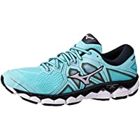 Mizuno Australia Women's Wave Sky 2 Running Shoes, Angel Blue/Lavender Frost/Black
