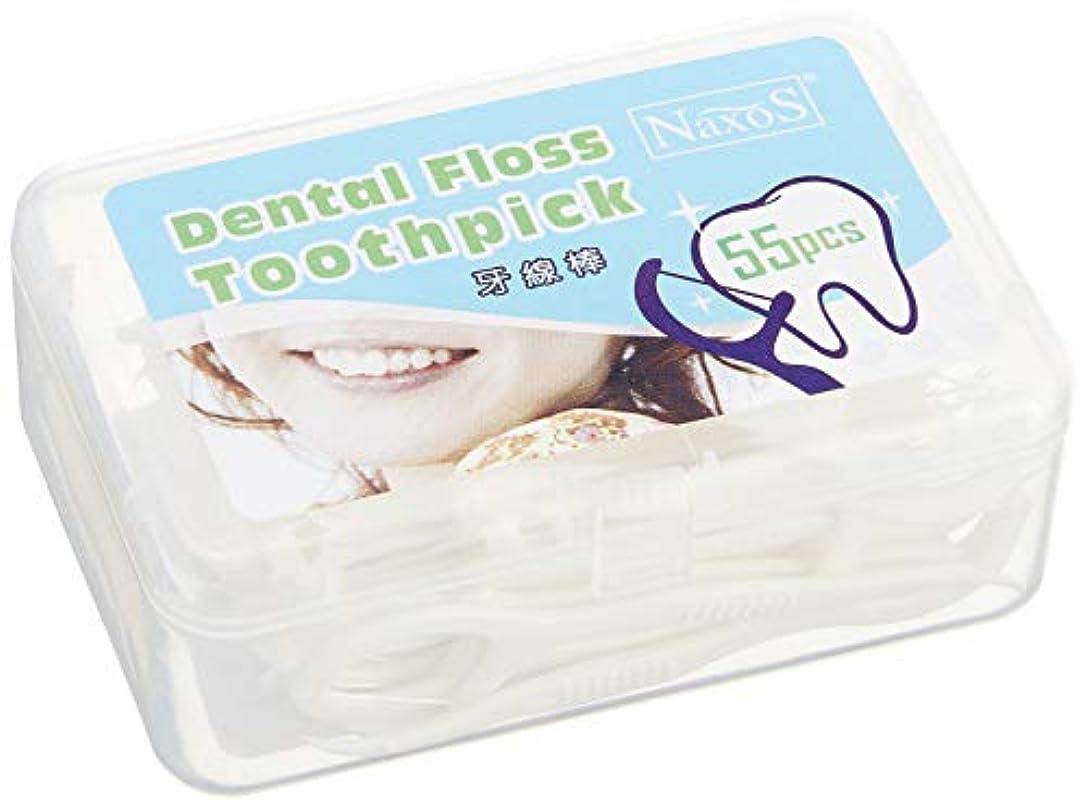 エージェント望み壊すオーラルケア フロス 歯 間 ブラシ デンタルフロス 歯間 クリーナー (2 箱)