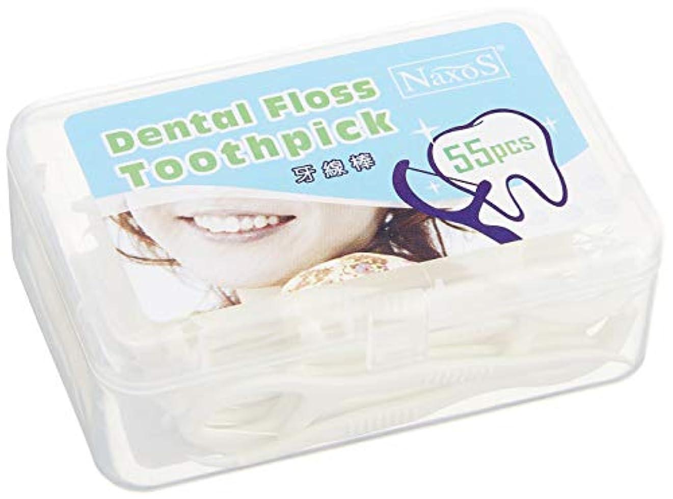 ジャングル許可シニスオーラルケア フロス 歯 間 ブラシ デンタルフロス 歯間 クリーナー (2 箱)