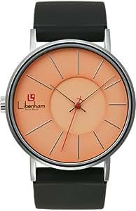 [リベンハム]Libenham 腕時計 ミディアムサイズ ラバー LH90032-09 Evening-Red(夕焼け) メンズ 【正規輸入品】