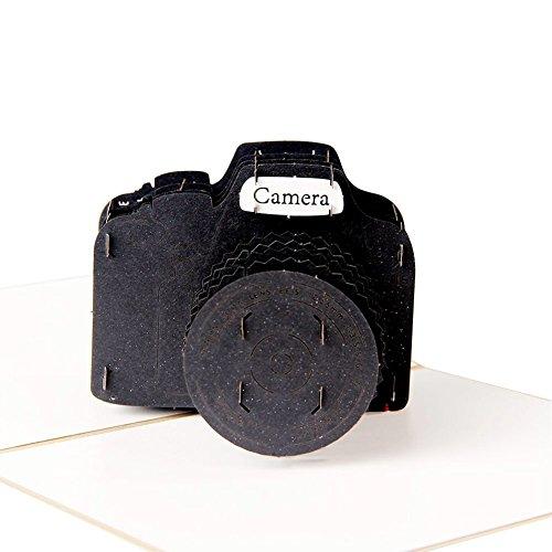 Paper Spiritzポップアップ誕生日カード 「カメラ...